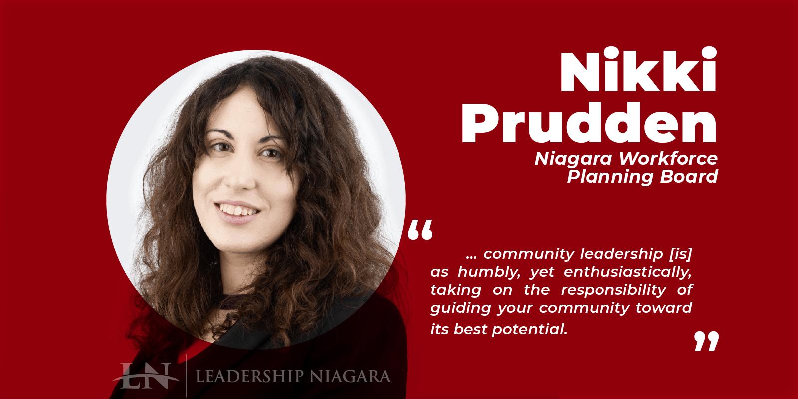 Nikki Prudden - Niagara Workforce Planning Board