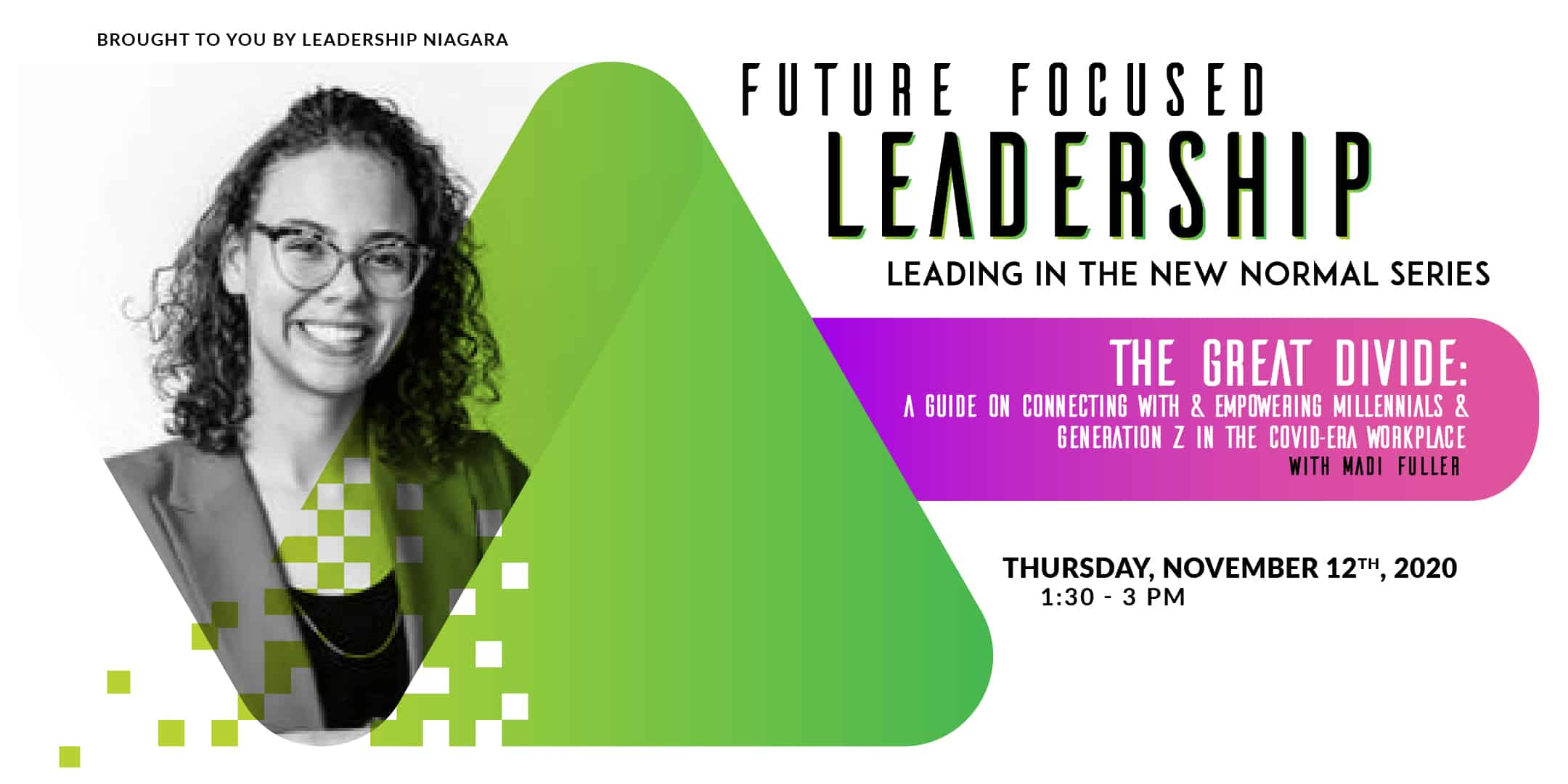Madi Fuller - Future Focused Leadership series, Career Success Specialist - Juno College of Technology