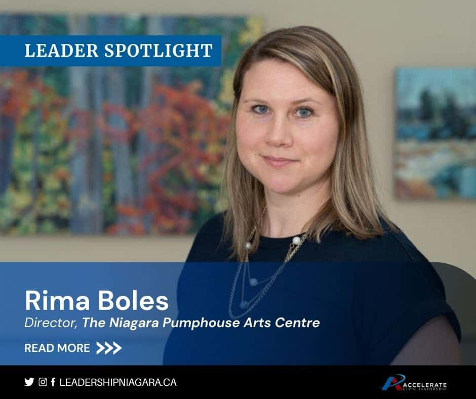 Rima Boles, The Niagara Pumphouse Arts Centre