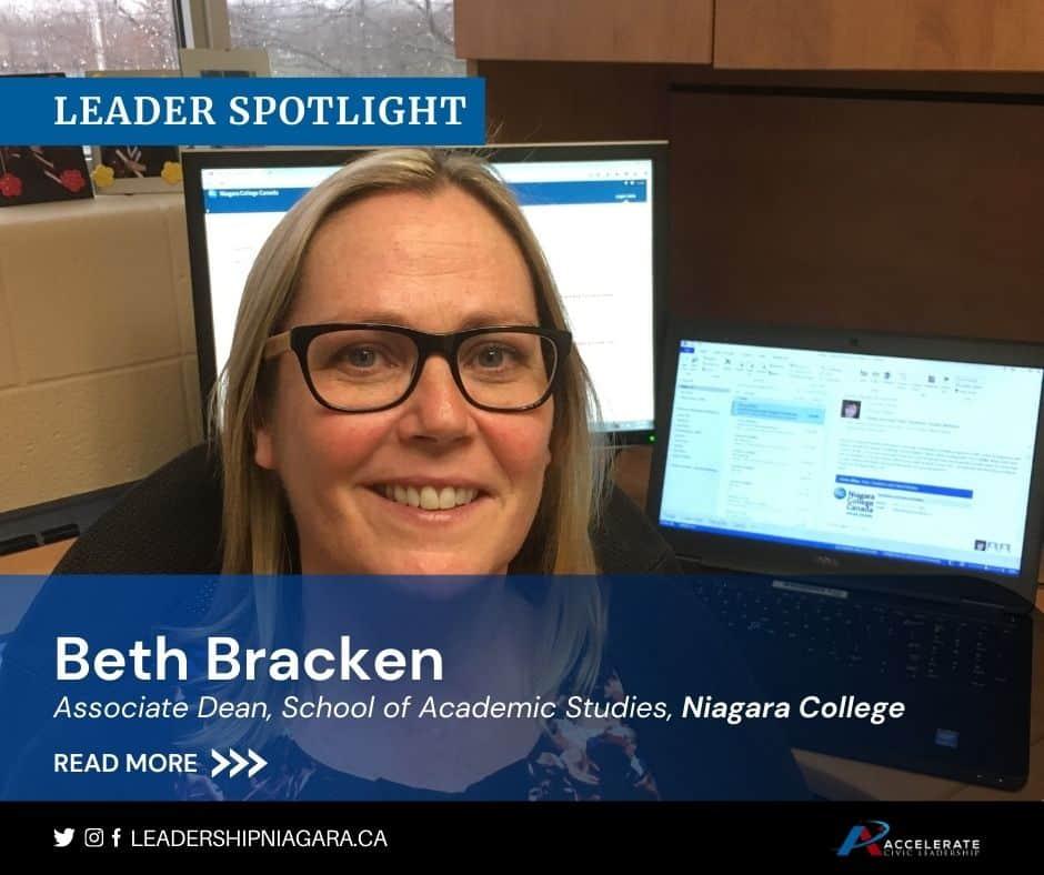 Beth Bracken, Associate Dean, School of Academic Studies, Niagara College