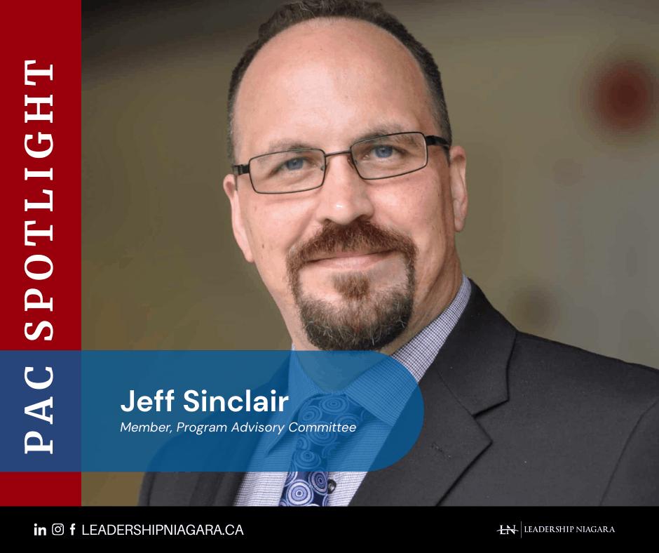 PAC Spotlight image of Jeffrey Sinclair, member of the Program Advisory Committee