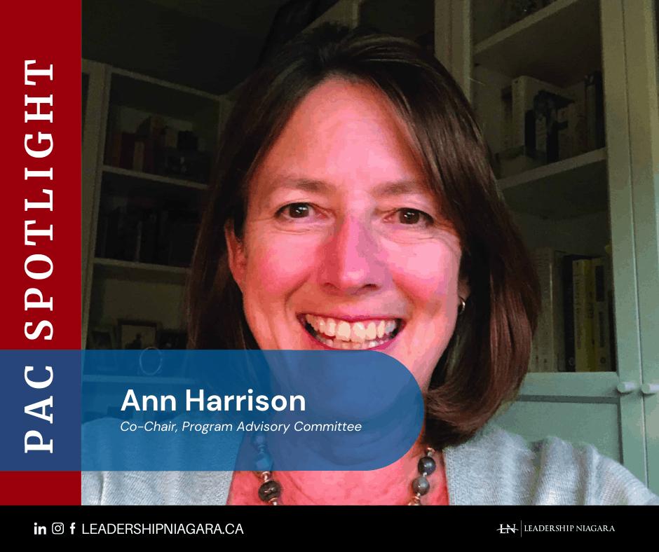 PAC Spotlight image of Ann Harrison, member of the Program Advisory Committee